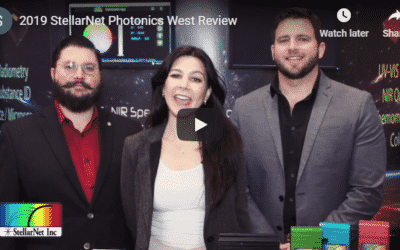 Photonics West 2019 Review – New StellarNet Spectrometer Products and Features