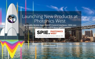 Photonics West 2019 Review – New Spectrometer Products and Features