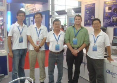 CIOE 2009 with Onset Sales Team -Shenzhen, China