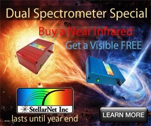 Fall Dual Spectrometer Special is Back! –  Buy a NIR get a VIS FREE