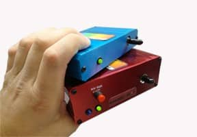 Dual Spectrometer System in hand