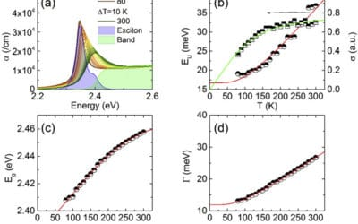 Exciton and lattice dynamics in low-temperature processable CsPbBr3 thin-films
