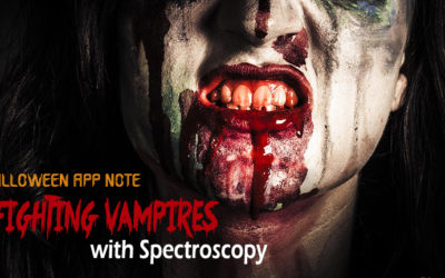 Special Halloween Application Note: Fighting Vampires with Spectroscopy