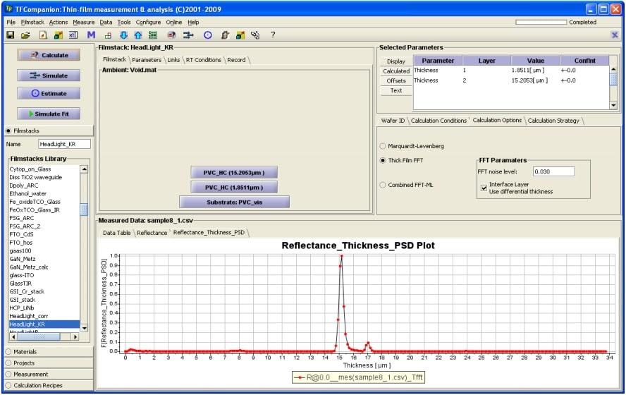 Thin Film Measurement Systems Stellarnet Us