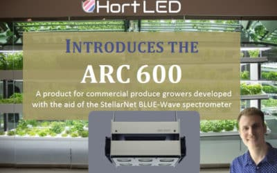 Customer Spotlight: HortLED Develops LED Grow Lights for Commercial Growers with aid of a BLUE-Wave Spectrometer