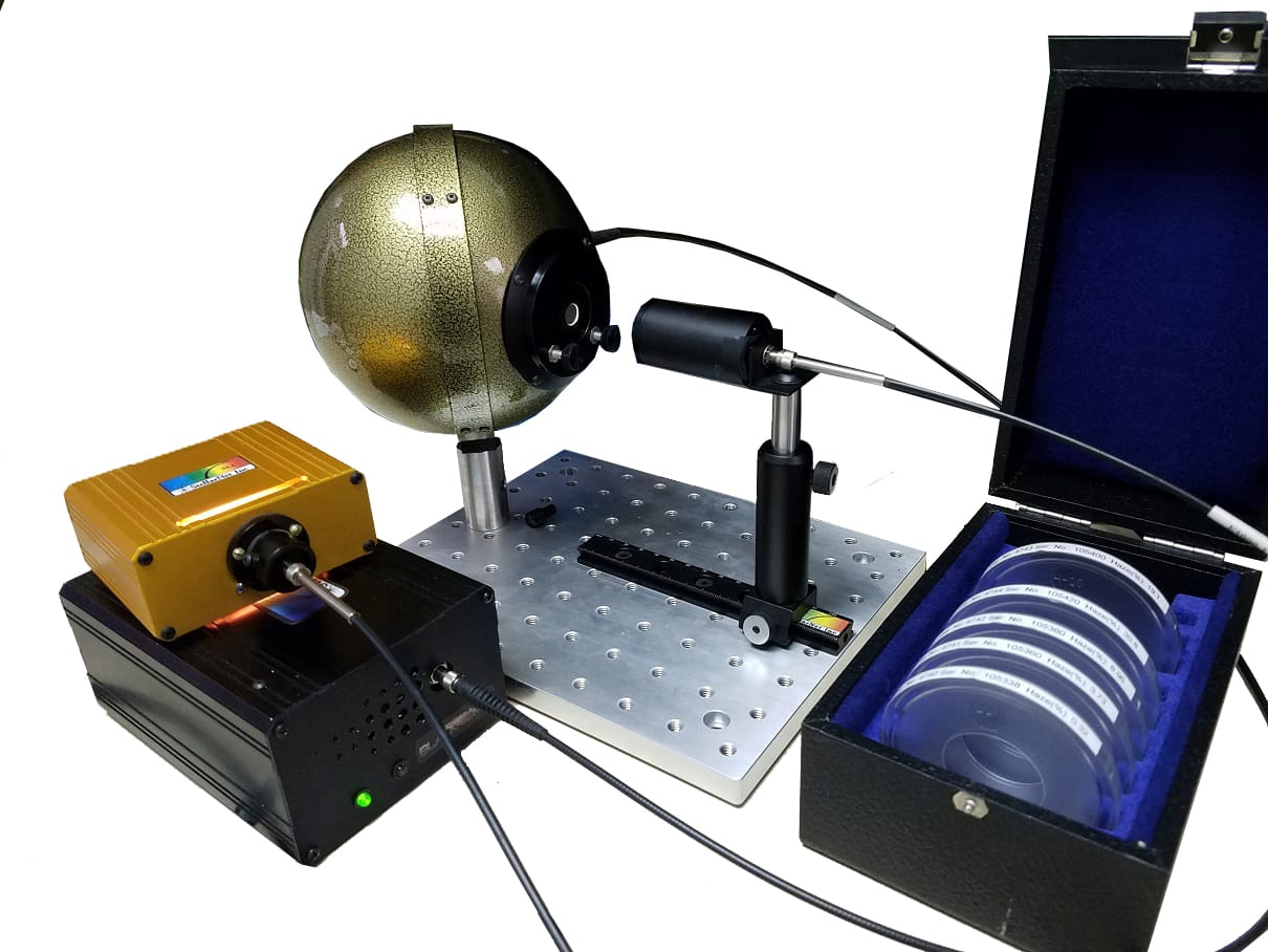 Low Cost Haze Measurement Spectrometer System