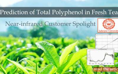 NIR Customer Spotlight- Jadavpur University predicts total polyphenol in Tea using near-infrared spectroscopy