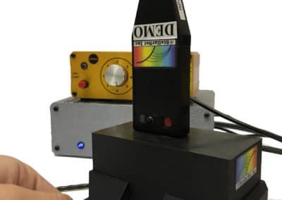 RPH5- Vertical Raman probe holder with laser safety Interlock