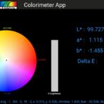 SpectraWiz Mobile Colorimeter App