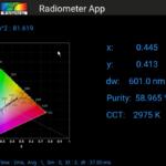 SpectraWiz Mobile Radiometer App