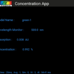 SpectraWiz Mobile Concentration App