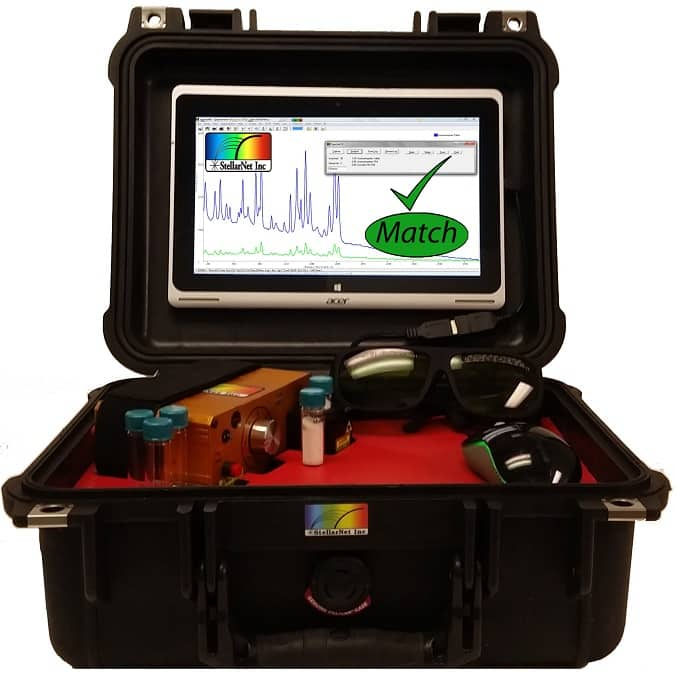 Stellarcase Raman Portable Raman System For Material Identification