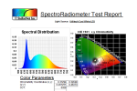 StellarNet LED Test Report- news