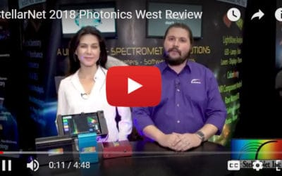 2018 StellarNet News – Photonics West Conference Updates