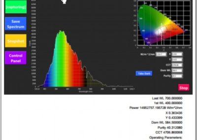 StellarRAD handheld spectroradiometer software PDF