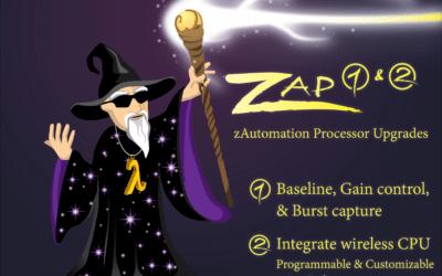 New Spectrometer Electronics- zAutomation Processors 1 & 2 (zAP)