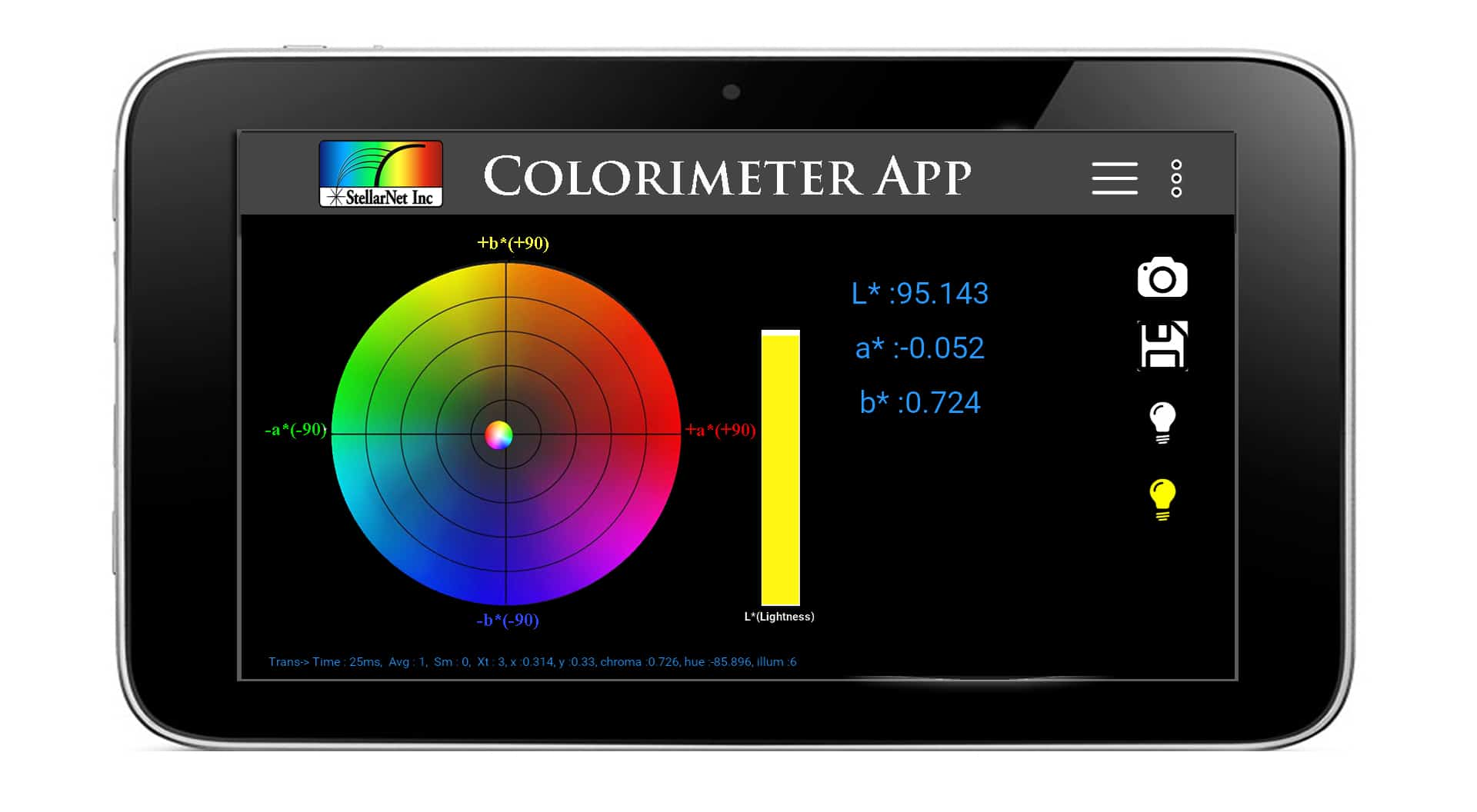 colorimeter app screenshot2